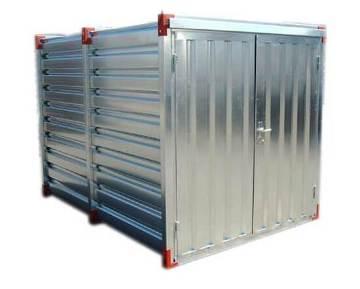 Container de stockage en kit en acier galvanisé