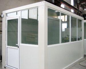 abri modulaire vitré